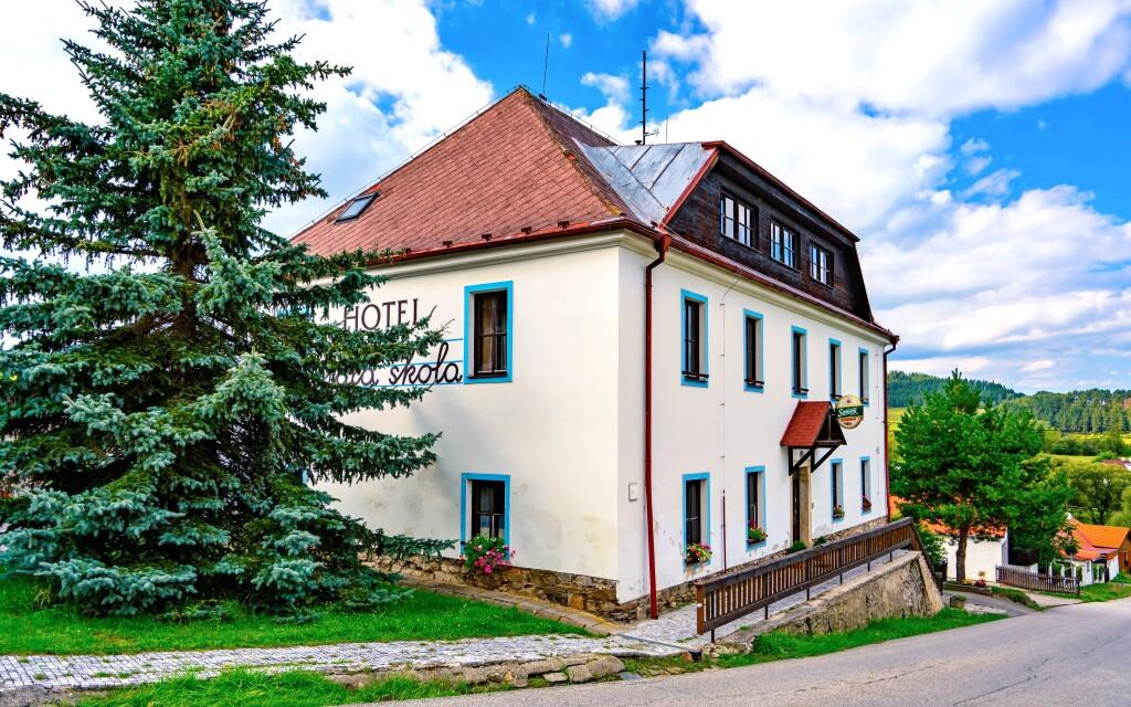 Hotel Hořice na Šumavě u Lipna je ideální pro rodiny