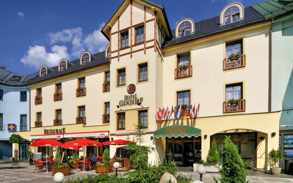 Hotel Gendorf *** v centru Vrchlabí, NP Krkonoše