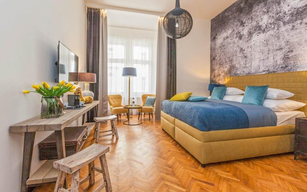 Komfortní pokoje, Hotel Antik ****, Praha