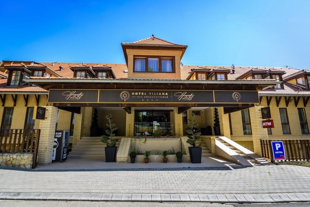 Hotel Tiliana **** v pokojnej časti Budapešti Maďarsko