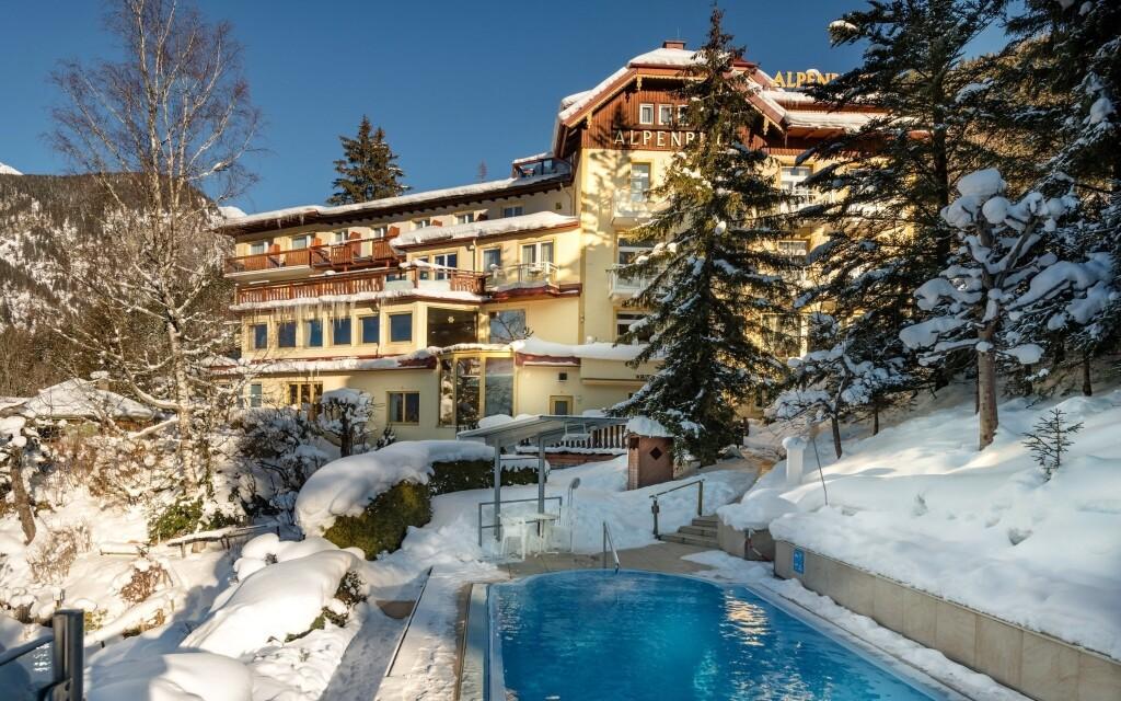 Pobyt v Hotelu Alpenblick vám zpříjemní wellness a bazén