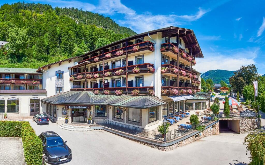 Alpensporthotel Seimler *** stojí uprostred bavorských Álp