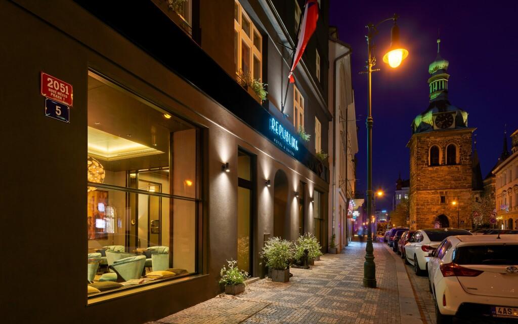 Hotel Republika & Suites ***** v centru Prahy
