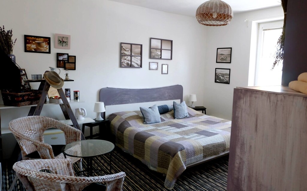 Dvoulůžkové pokoje jsou krásné a komfortní