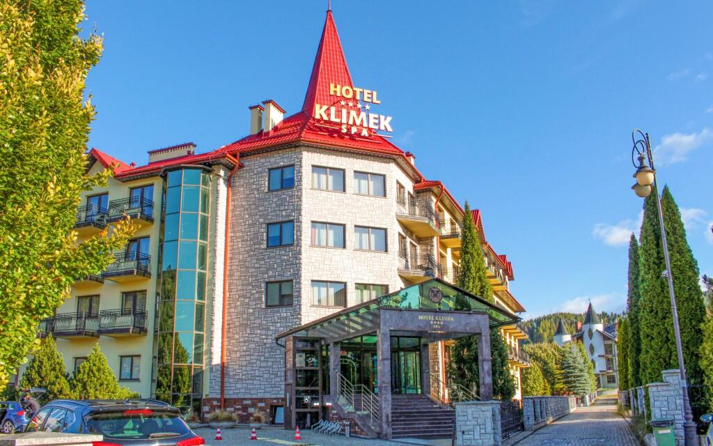 Az elegáns Hotel Klimek **** SPA, Muszyna, Lengyelország