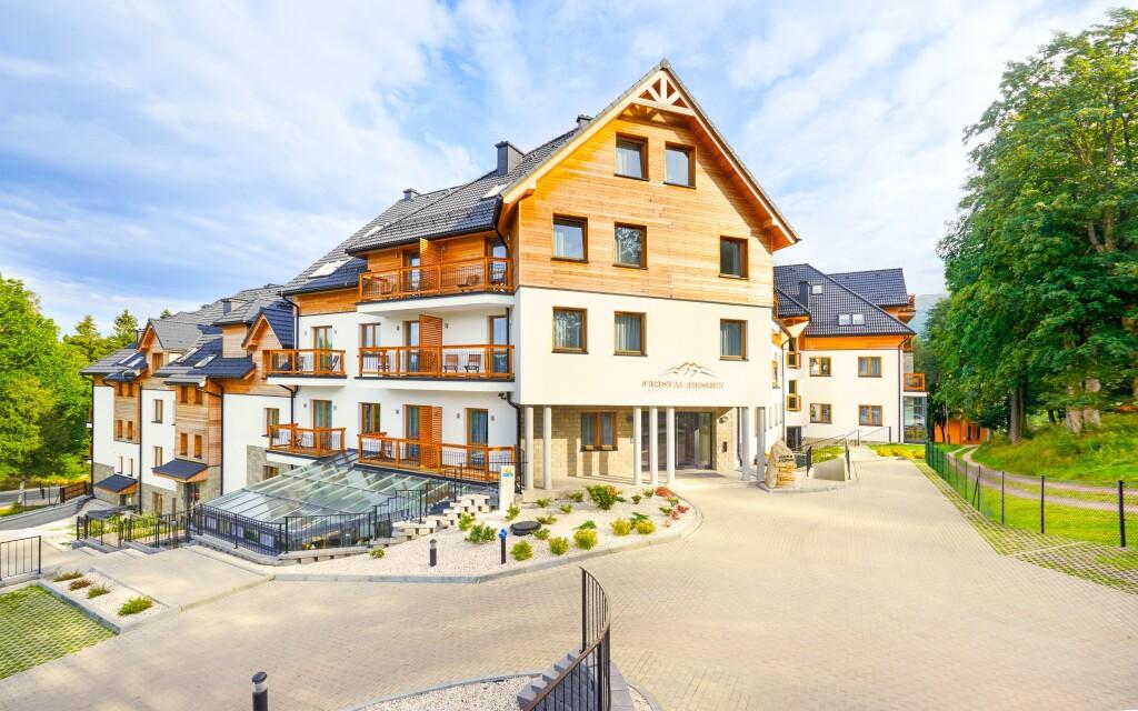Nádherný hotel Cristal Resort Szklarska Poreba