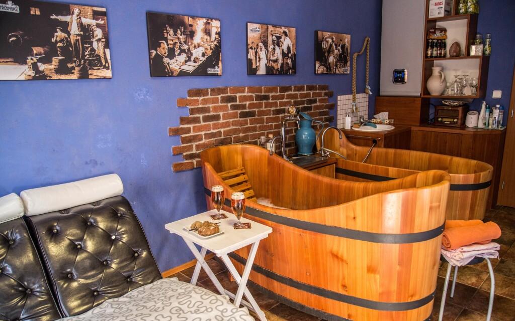 Doprajte si pivný kúpeľ v štýle Postřižin