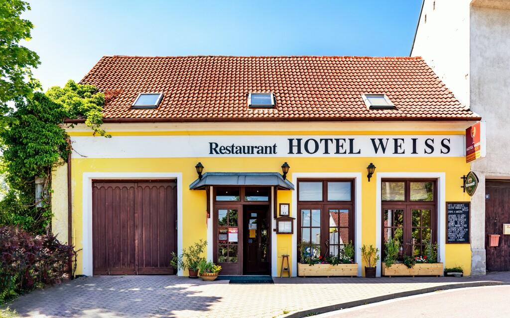Hotel Weiss, Lechovice, Dél-Morvaország