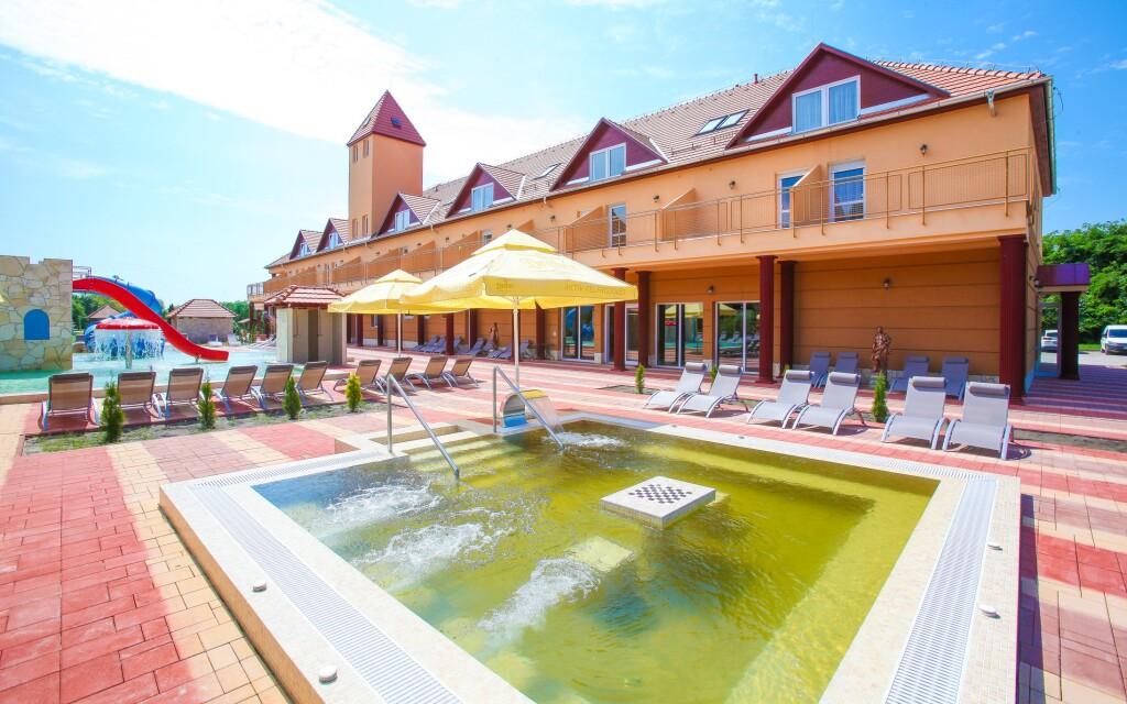 Vonkajšie bazény, Termal Hotel Vesta, Maďarsko