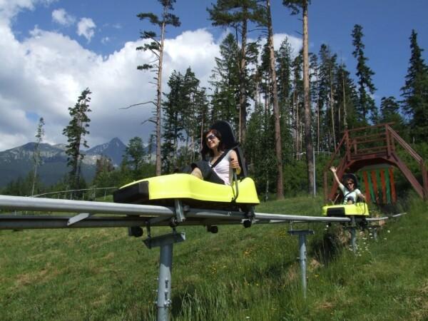 Bobová dráha v Tatranskej Lomnici