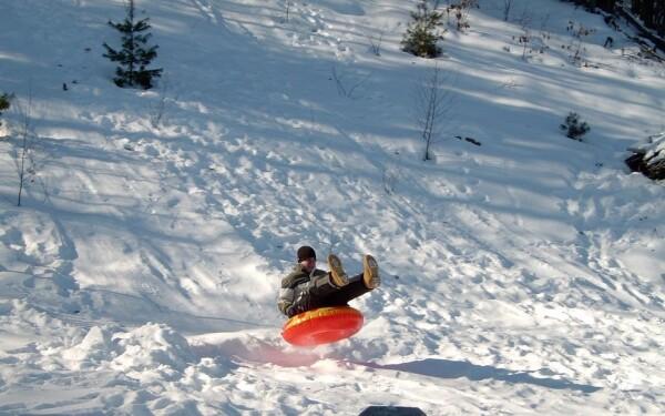 Snowtubing park Špindlerův Mlýn