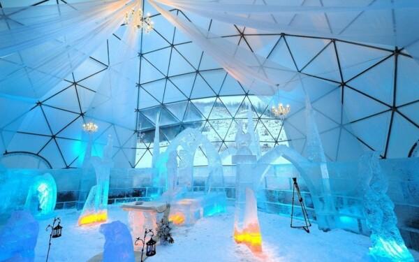Ledová bazilika na Hrebienku