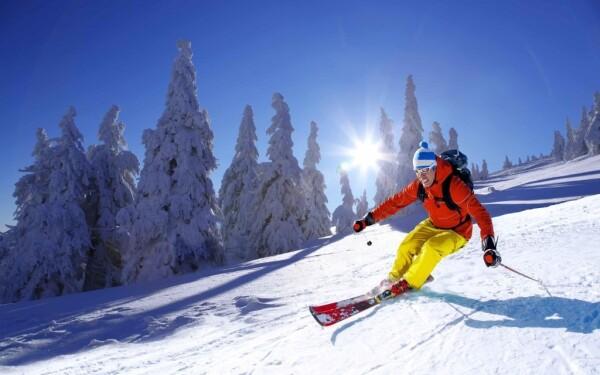 Ski resort Troják