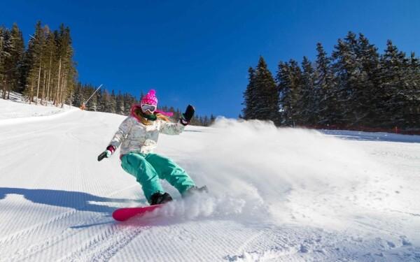Ski areál Modrá Hvězda