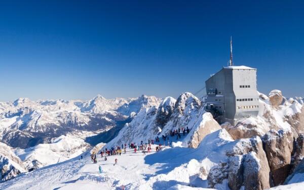 Ski areál Arabba Marmolada