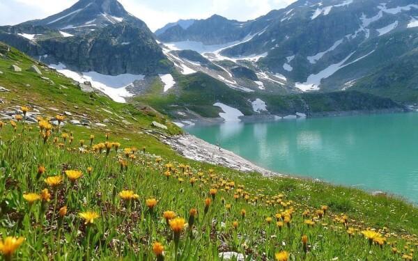 Jazerá Weißsee, Grünsee a Tauernmoossee