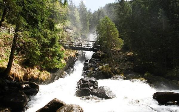 Vodopády Riesachfälle