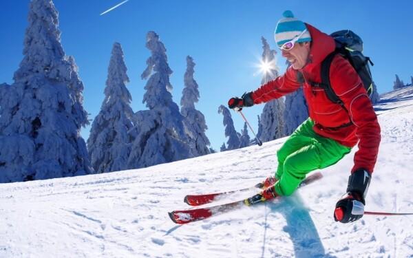 Ski areál Šacberk u Jihlavy