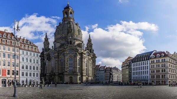 Frauenkirche Drážďany