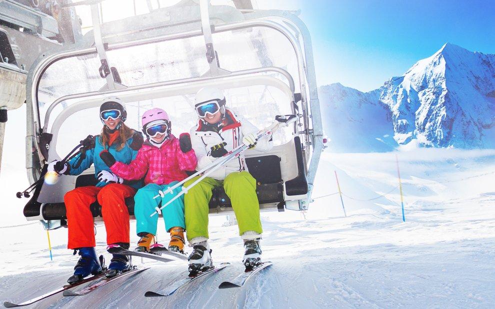 lyžování v rakousku