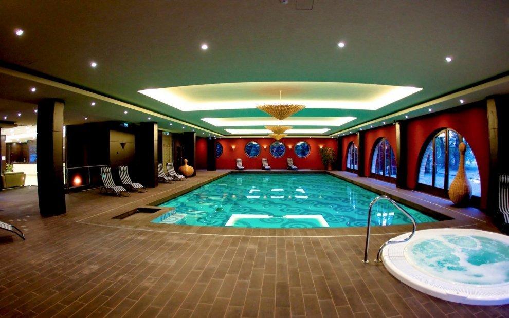 Wellness v hoteli Stácio v Budapešti