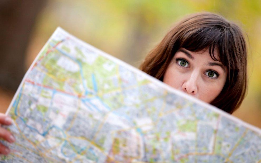 Při toulkách přírodou nezapomeňte na mapu