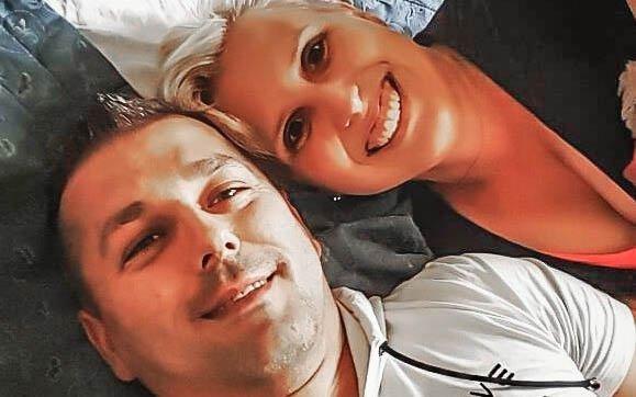 Výherkyně paní Andrea s manželem