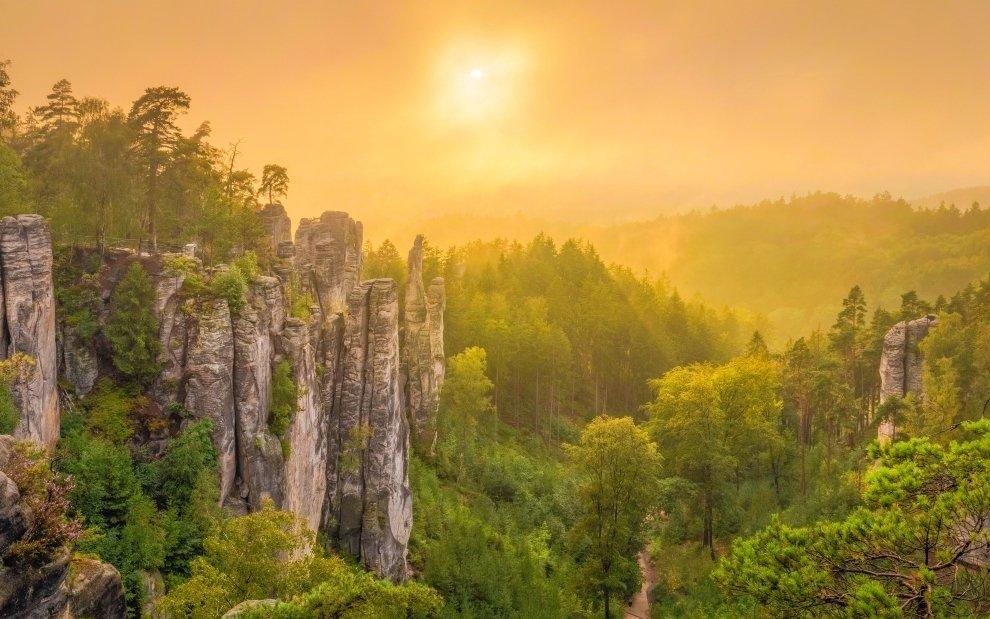 CHKO Český ráj: Túra Prachovskými skalami