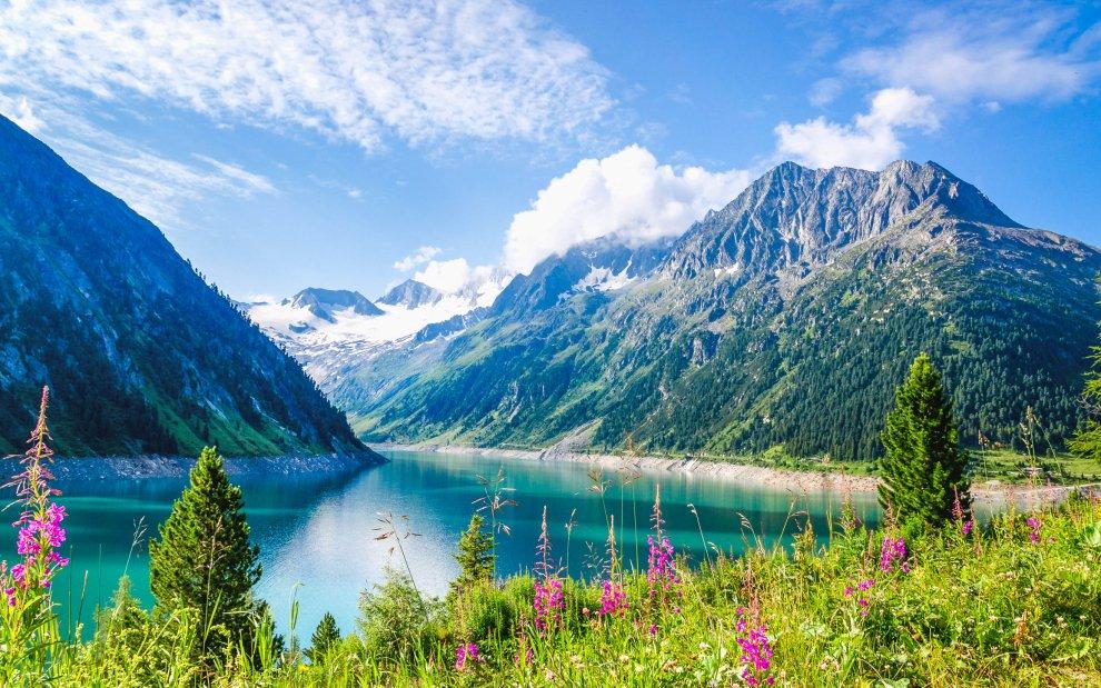 Jezero Schlegeis See