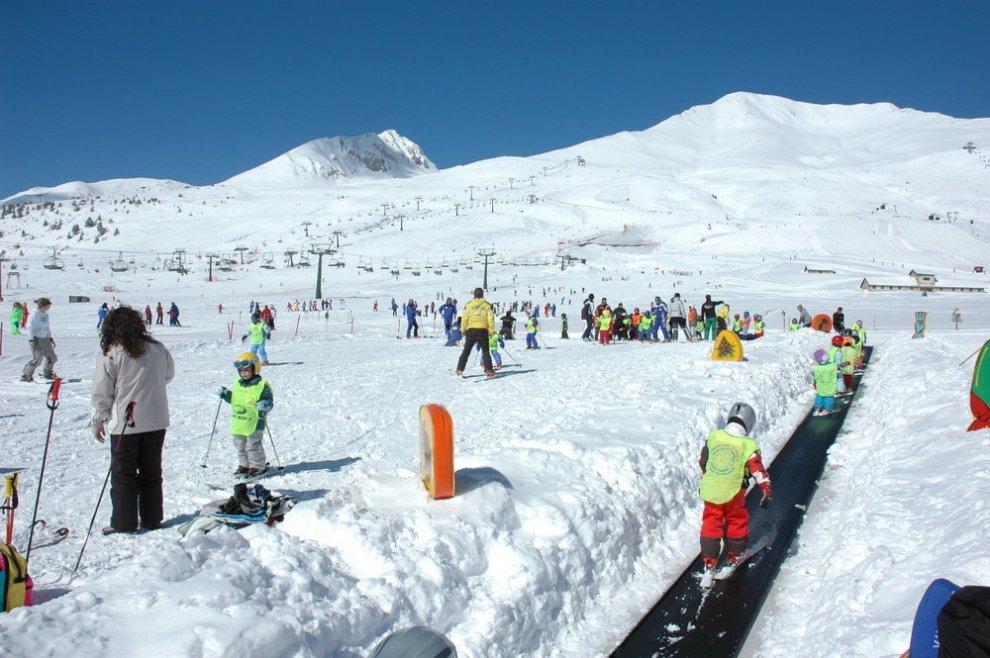 lyžování v itálii