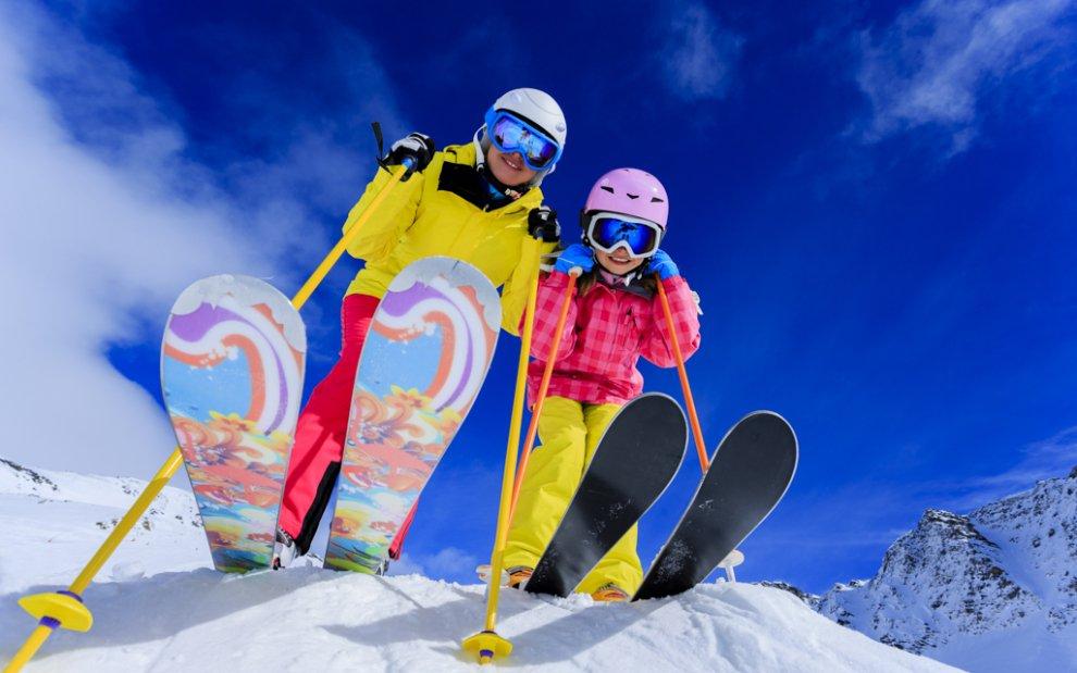 lyžování pro rodiny