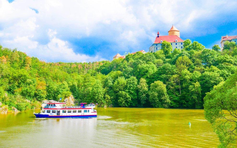 Brno: Túra podél Brněnské přehrady na hrad Veveří
