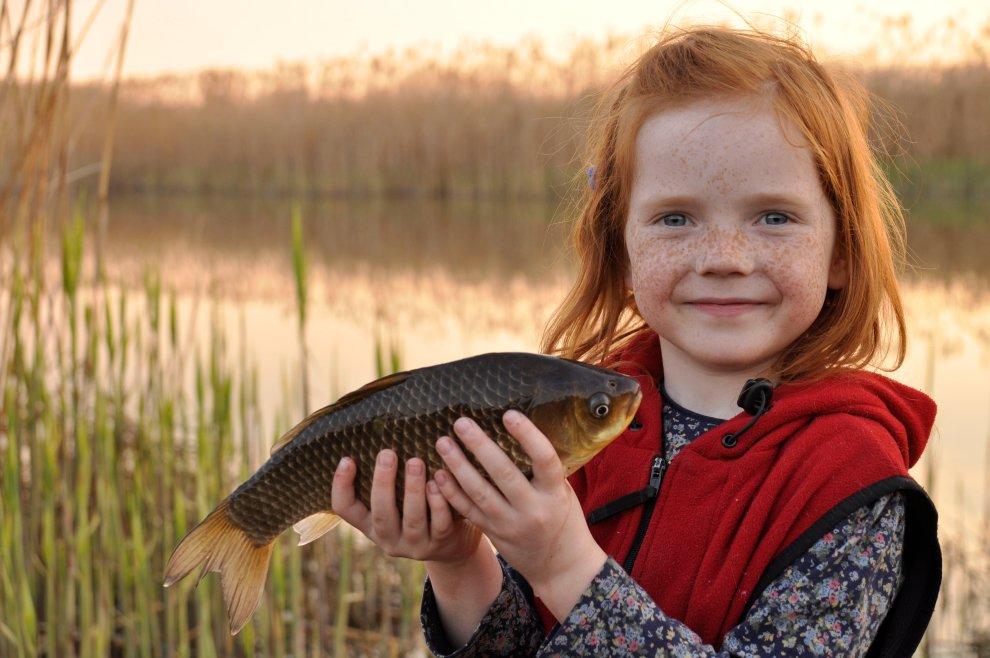 Jak vypadá ryba ve skutečnosti? Na výlovech rybníků se vaše děti přiučí biologii.