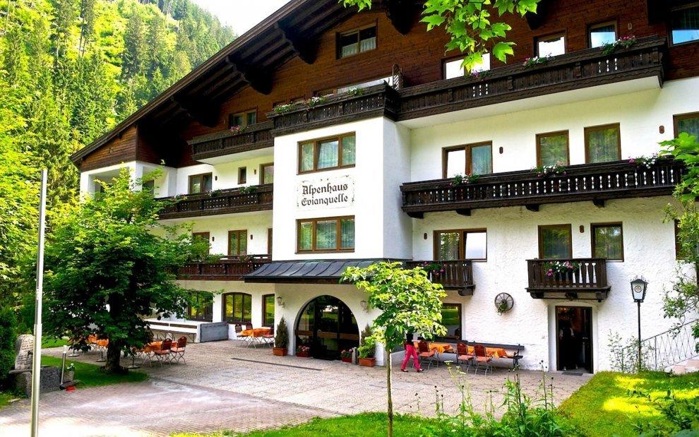 Hotel Evianquelle je ideálny pre dovolenku v Alpách