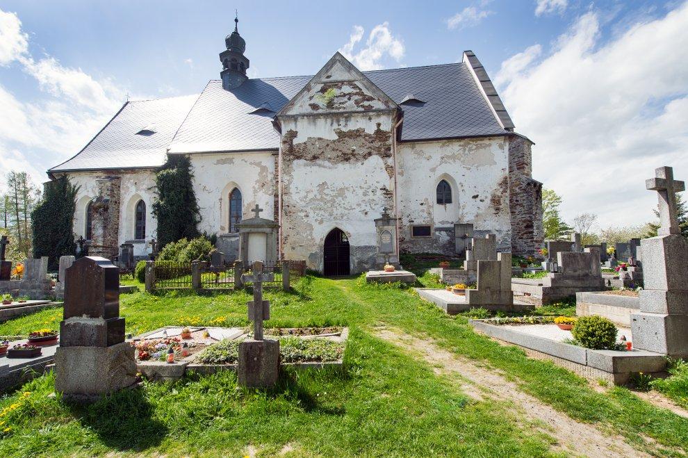 Hřbitov Velhartice
