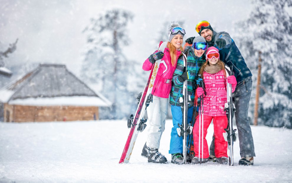 Zima na horách v Česku