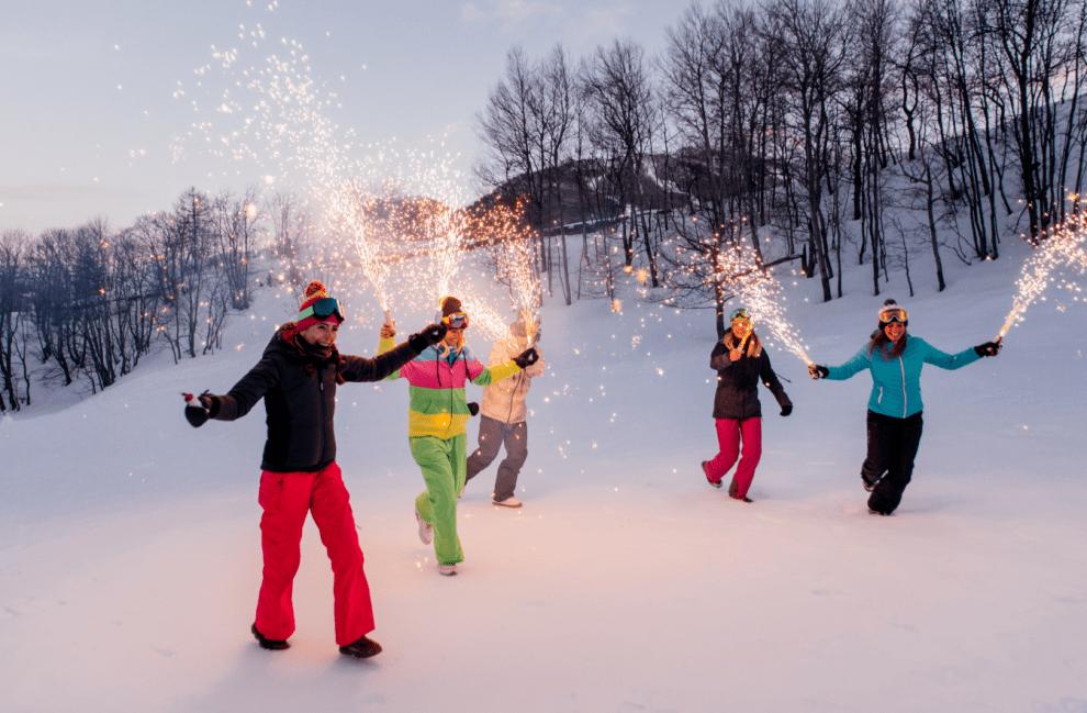 Nový rok na horách