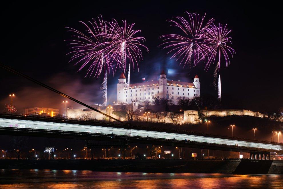 Silvestr v Bratislavě