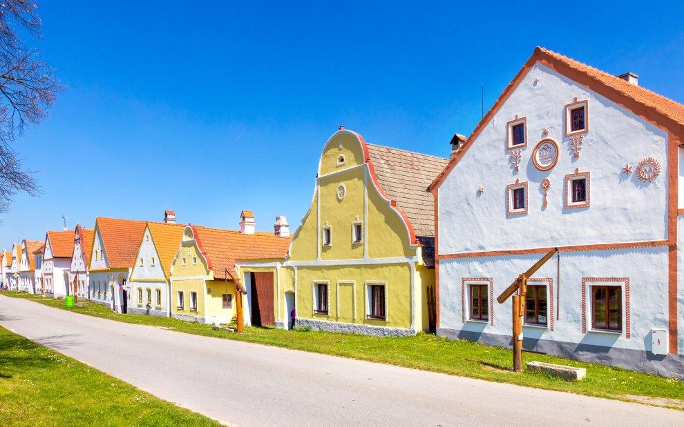 Vesnická památková rezervace v Holašovicích