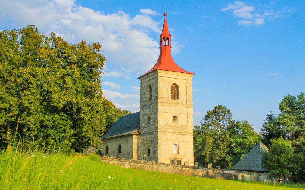 Kostel sv. Jakuba v Letařovicích