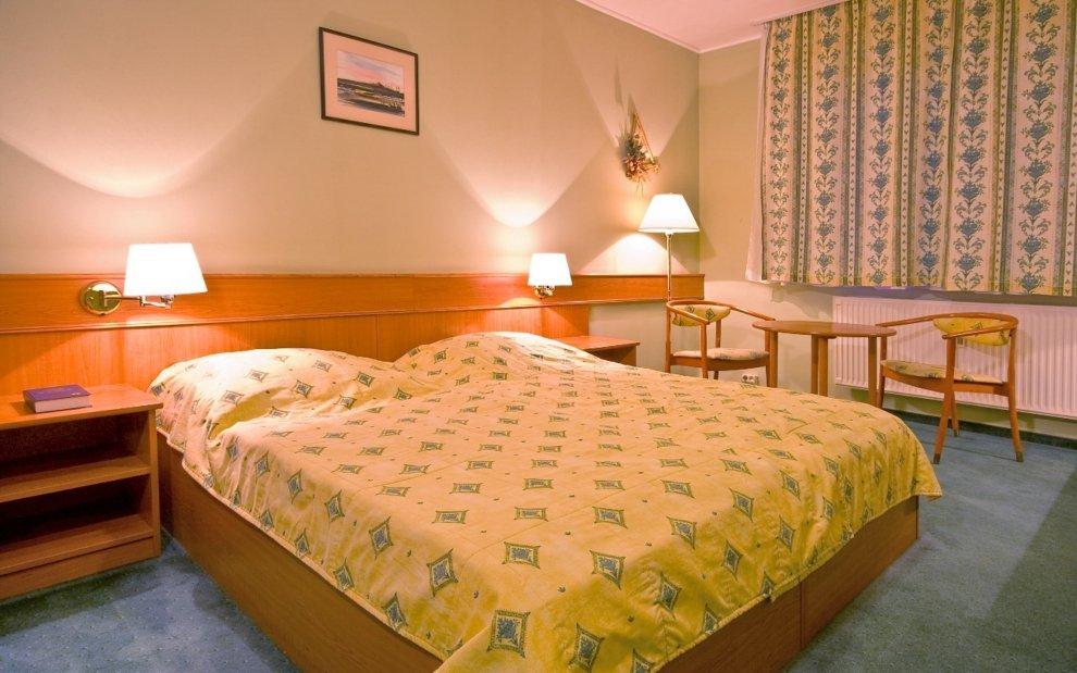 Pokoje v Thermal hotelu jsou příjemné zařízené
