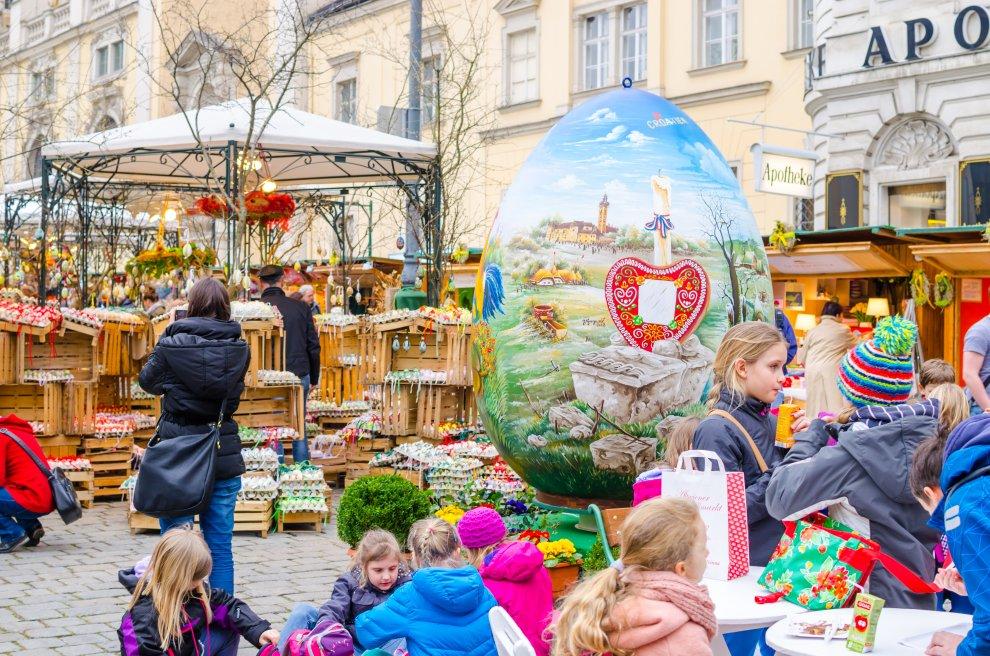Velikonoční trhy Vídeň