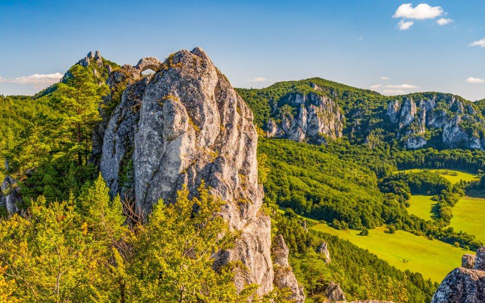 Súľovské skaly, Slovensko