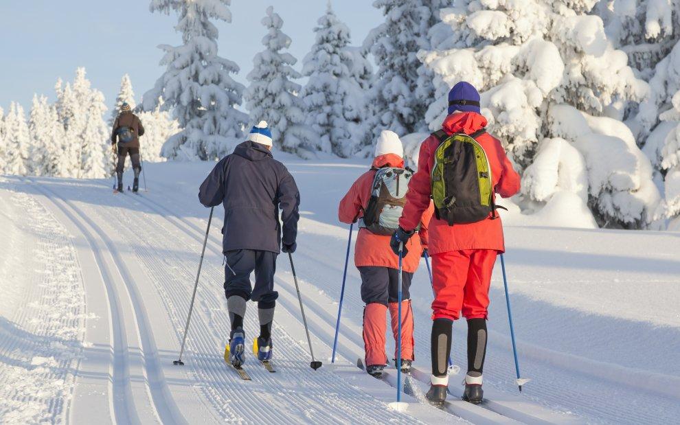 běžecké lyžování Beskydy