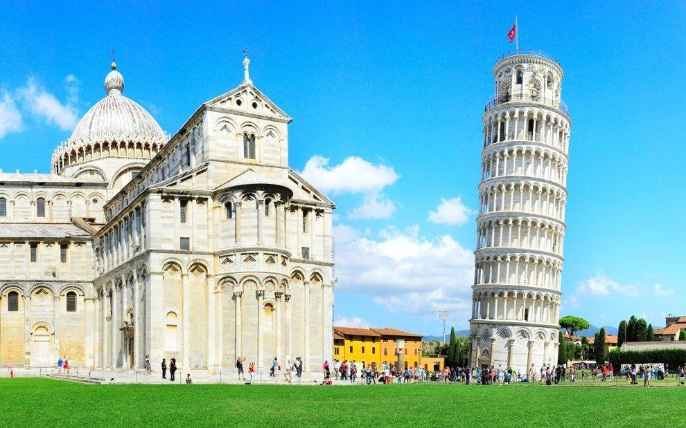 Šikmá věž v Pise