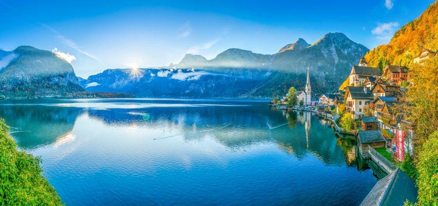 10 NEJlepších jezer pro letní osvěžení v Rakousku