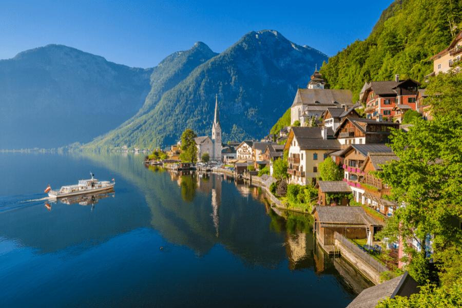 10 najlepších jazier pre letné osvieženie v Rakúsku