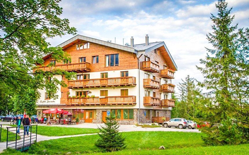 Vysoké Tatry pro rodiny ve Vile Borievka s úschovnou kol + 2 děti v ceně
