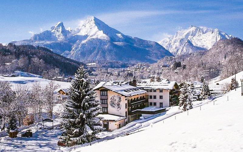 Bavorské Alpy přímo u ski areálu v Alpensporthotelu Seimler *** s polopenzí