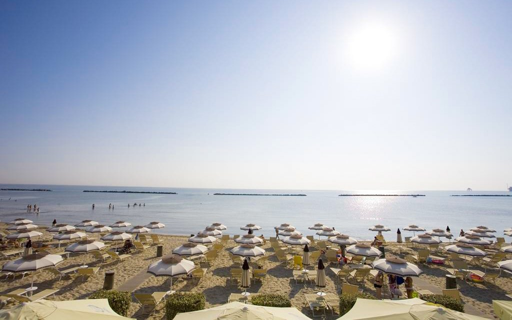 Itálie pro 6 osob v apartmánu v Residenci Amanda jen 400 m od pláže na 8 dní